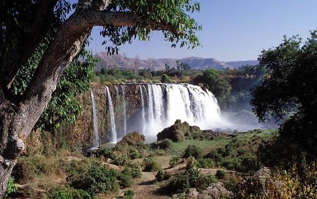 מפלי הנילוס הכחול - צפון אתיופיה