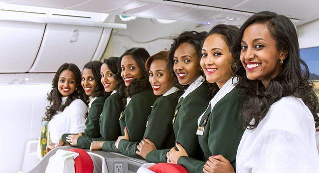 צוות דיילות של אתיופיאן איירליינס