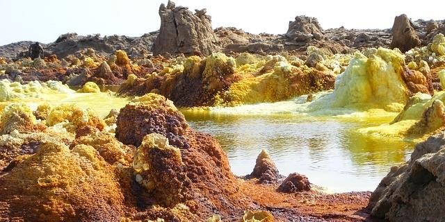 הרי געש באתיופיה - מדבר דנקיל