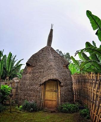 בית טיפוסי של שבט הדורזה