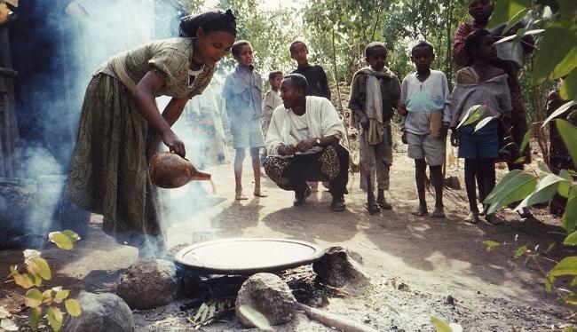 הכנת אינג'רה בגונדאר