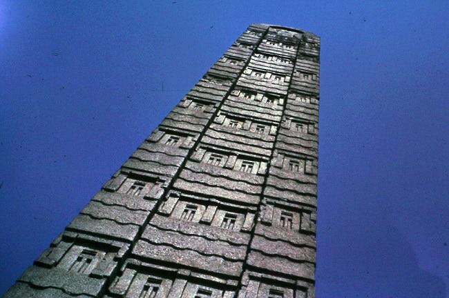 עתיקות בעיר אקסום אתיופיה