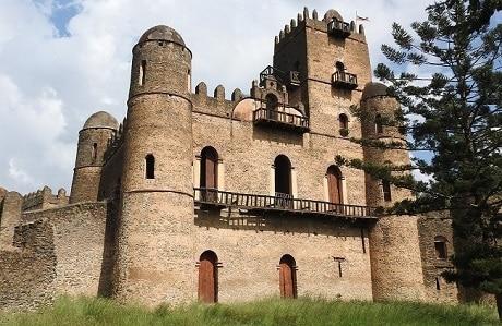 המתחם המלכותי פאסיל גמב שבעיר גונדר אתיופיה - עותק
