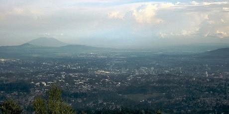 תצפית על אדיס אבבה מגבעות אנטוטו - עותק