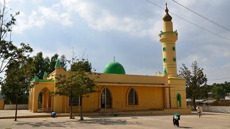 המסגד בעיר נגאש - עותק