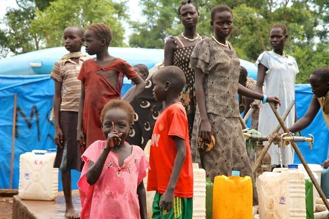 משפחה אתיופית בגמבלה
