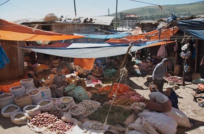 שוק הירקות, הרר, אתיופיה