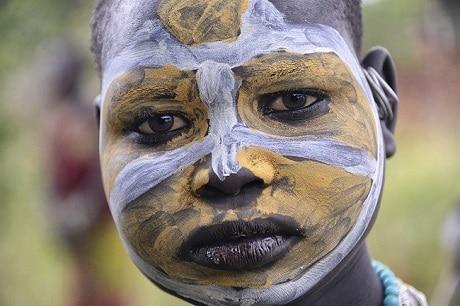 נערה משבט סורי - קיביש - עותק