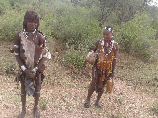 בני השבטים באתיופיה