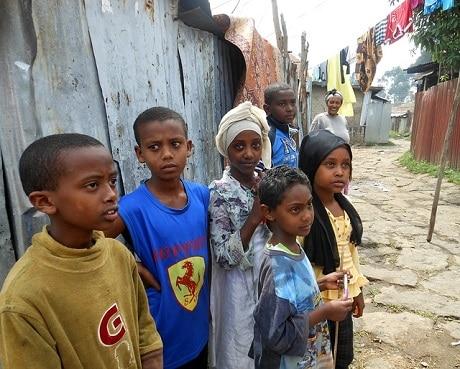 ילדים שפגשנו במהלך טיול לאתיופיה - עותק