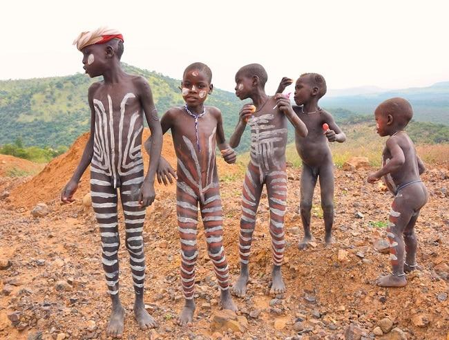 ילדי שבט המורסי