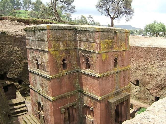 כנסיית Bet Giyorgis בלליבלה, אתיופיה