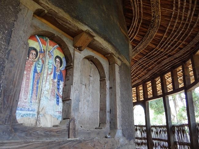 פנים כנסיית אורה קידנה