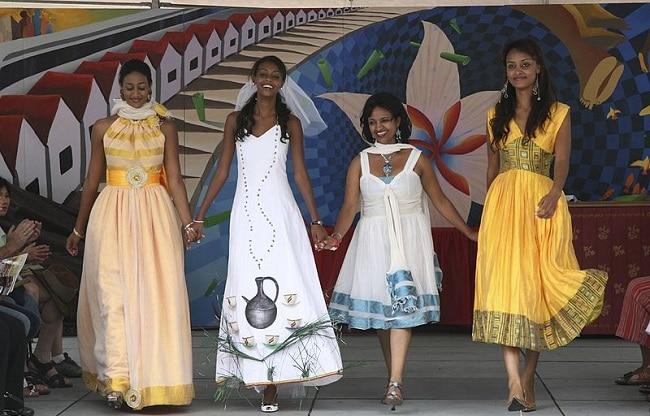 שמלות אתיופיות