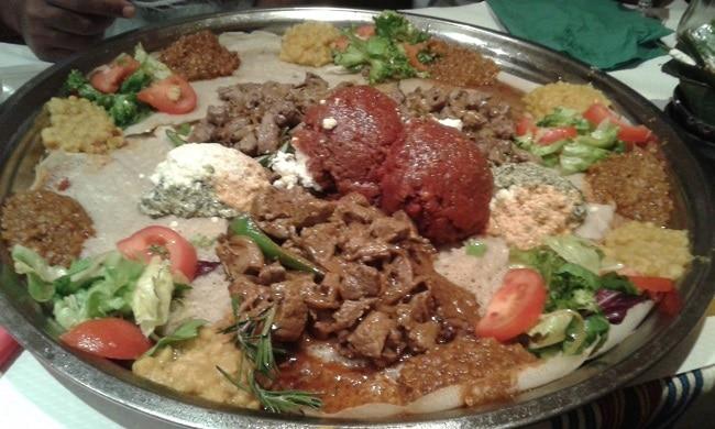המטבח האתיופי - מאכל אתיופי מסורתי