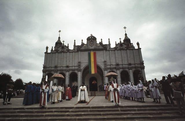 קתדרלת השילוש הקדוש באדיס אבבה