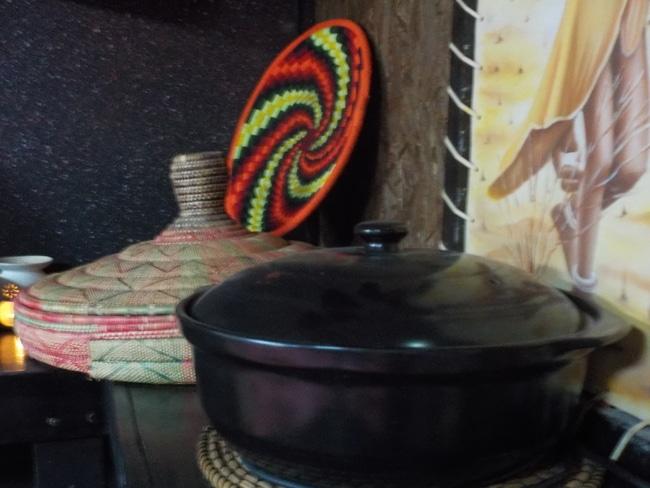 בישול מאכלים אתיופיים