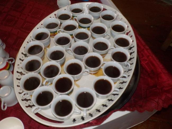 מגש כוסות קפה