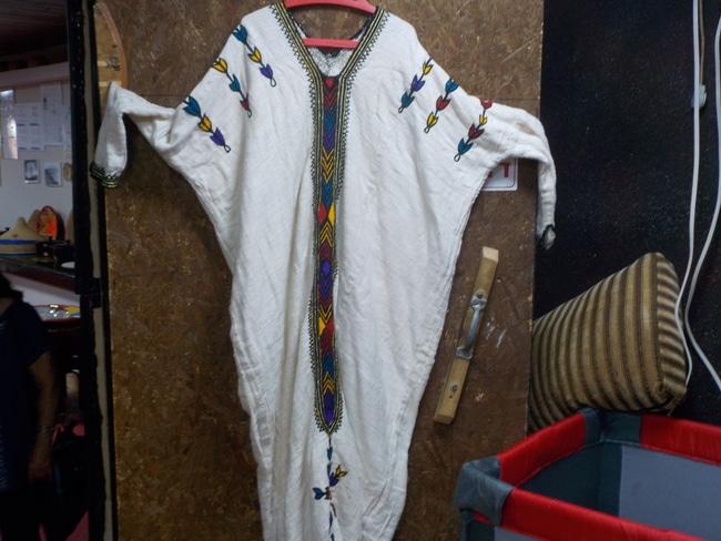שמלה אתיופית מסורתית