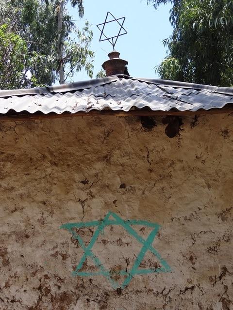 אחד מבתי הכנסת הנטושים בגונדר