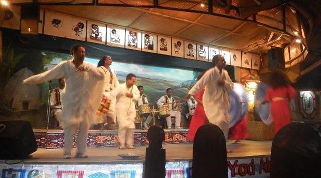 הופעת פולקלור בערב האחרון שלנו באתיופיה