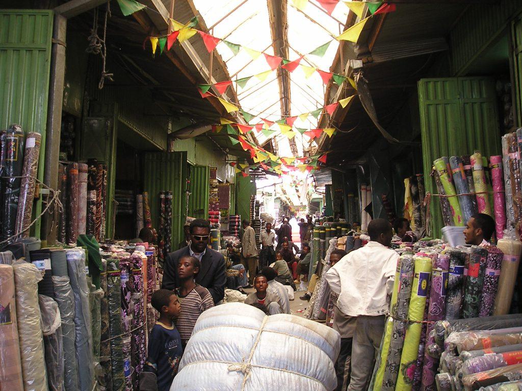 שוק מרקטו באדיס אבבה