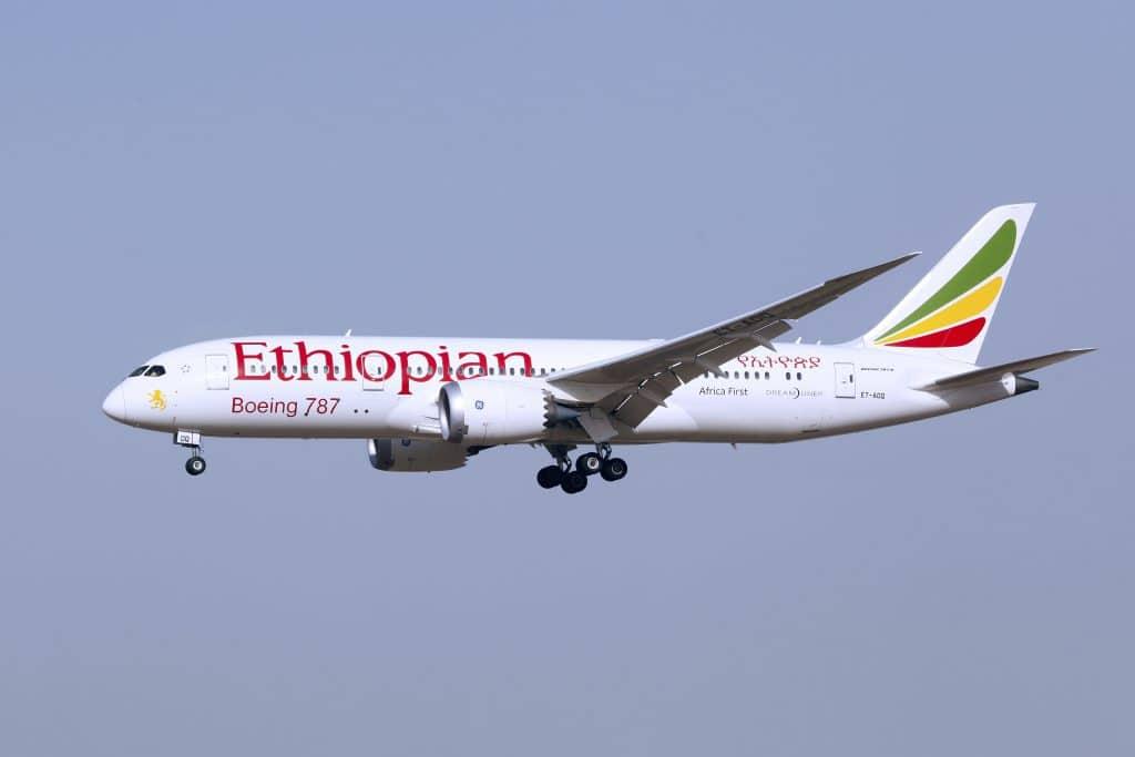 אתיופיאן אירליינס בפעולה