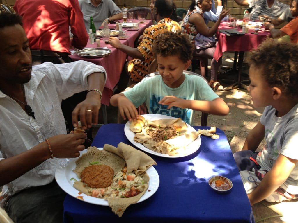 הפסקת צהריים באתיופיה